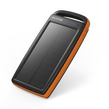Solar Charger RAVPower 20000mAh Outdoor Portable Charger Solar Power Bank Dual