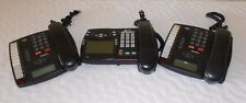 Lot Of 3-Aastra Phone Business Telephone Charcoal Black Model 9116 Great Shape!