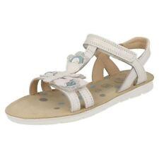 Chaussures blanches en cuir pour fille de 2 à 16 ans pointure 34