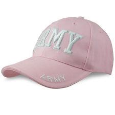 Rothco Da Donna Signora US Army Militare Cotone Twill Berretto Da Baseball Cappello Rosa Taglia Unica