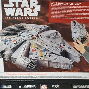 2015 Star Wars The Force Awakens Millenium Falcon Hasbro -  FREE Priority Mail