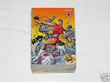 1993 UPPER DECK THE VALIANT ERA History Comics Universe Trading Card Set #1-120