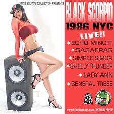 Black Scorpio 1986 NYC
