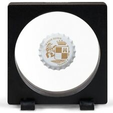 Magic Frame 90R Display Stand 3.5x3.5 Floating Bottle Cap Challenge Coin Medal