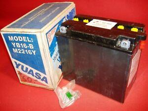 Yuasa battery YB16-B  M2216Y