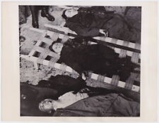 VICTIMS of NAZI Blitzkrieg in Nancy France * VINTAGE 1942 press photo * RARE