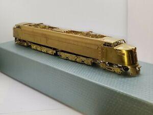 HO Brass NJ Custom Brass Great Northern W-1 B-D+D-B Electric Locomotive EL-323