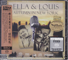 """Ella & Louis Autumn In New York"" Top Music 32 Bits/192 kHz DSD Hybrid SACD New"