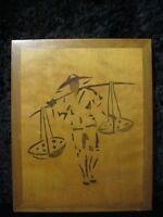 Intarsienbild - Holz-Einlegearbeit - Furnierbild - Fatto a Mano - Circa 1950/60