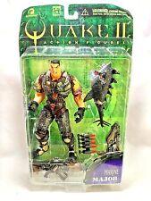 """ReSaurus Vintage 1997 Series One Quake 3 Major Marine 6.5"""" Action Figure Sealed"""