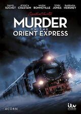 Agatha Christie's Poirot Murder on the Orient Express David Suchet BRAND NEW DVD