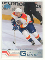 2001-02 Upper Deck Panthers Hockey Card #425 Niklas Hagman RC