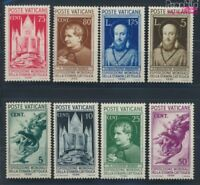 Vatikanstadt 51-58 Jahrgang 1936 komplett postfrisch Weltausstellung (8777217