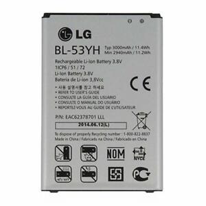 NEW OEM LG G3 BL-53YH Battery for D850 D851 D852 D855 LS990 VS985 F400 OEM