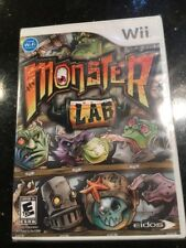 Monster Lab - Nintendo Wii Brand New Factory Sealed