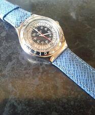 Large swatch orignal irony wristwatch. New battery,  Working