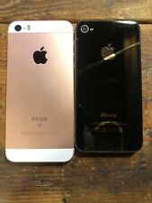 Apple iPhone SE 'As Is' + iPhone 4s also 'As Is'