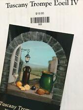Kingslan & Gibilisco Packet Tuscany Trompe L'oeil IV OILS