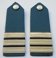 Greece Original Vintage Greek Hellenic Customs Epaulettes Unused Pair