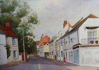 WATERCOLOUR BEXHILL ON SEA LISTED ARTIST WILL PERRIN  FREE SHIPPING TO ENGLAND