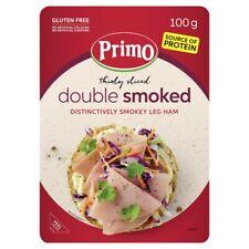 Primo Gluten Free Thinly Sliced Double Smoked Leg Ham 100g