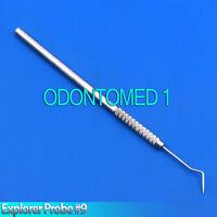 X3 Dental Endodontic Explorer 9 Probe Periodontal Diagnostic Dentists Pick Probe