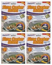 5x 20x Pack Fat Slow Cooker Liner Foil Cooking Bag Easy Clean Universal Size