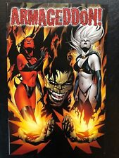 Armageddon 1 (1999, Chaos) Variant 1421/2,500 Lady Death Evil Ernie COA VF/NM a