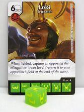 Marvel Dice Masters - 3x #047 Loki Trickster - Avengers vs X-Men