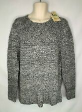 Tommy Bahama Sweater Mens Large Gray Bear To Be Different Crew Pullover $158