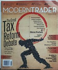 Modern Trader August 2017 The Tax Reform Debate Capitol Hill FREE SHIPPING sb