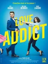 Affiche 120x160cm LOVE ADDICT (2018) Kev Adams, Mélanie Bernier, Lavoine NEUVE