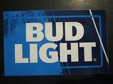 BUDWEISER Bud Light rectangle Logo STICKER decal craft beer brewing