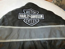Mens Hot Leathers Harley Davidson Leather Jacket with winter insert 58 Jacket
