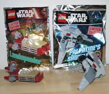 Lot de 2 Lego Star Wars lukes landspeeder + palpatines shuttle