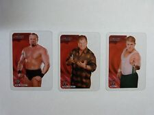 W RAW LAMINCARDS  X 3 - FOUND IN LOFT   USED CONDITION - LOT 2