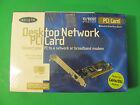 Belkin 10/100 Desktop Network PCI Card. New Old Stock 2001. Sealed New.