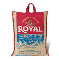 ROYAL BASMATI RICE 20LBS LONG LIFE SHELF FREE SHIPPING