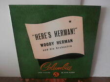 "woody herman and his orchestra""here's herman""lp10""or.uk.columbia:1060 années50's"