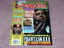 FANGORIA # 130, Phantasm III, The Exocist, Vincent Price, FREE SHIPPING in USA