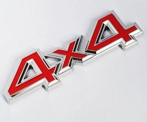 NEW Quality Metal 3D 4x4 Auto Car Sticker 4 Drive Emblem Badge - UK STOCK