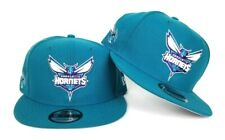 New Era NBA Teal Charlotte Hornets 9Fifty Snapback Hat
