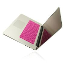 "SL HOT PINK Keyboard Cover for NEW Macbook Pro 15"" A1398  with Retina display"