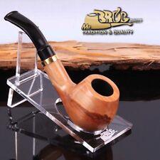 """ECCEZIONALE Mr.Brog originale pipa nr. 32 legno di pero """" DUCAT """" naturale"""