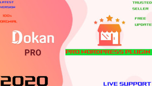 DOKAN PRO Latest Version⭐ WordPress Plugin ⭐Full Package ⭐ Lifetime Update