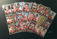 1965 Topps St. Louis Cardinals Baseball Cards (Ken Boyer, Bob Uecker) Set Break
