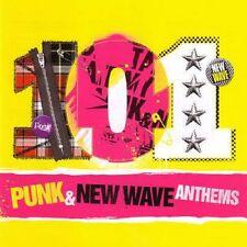 101 Punk & New Wave Anthems - 5cd (Iggy Pop, Ramones, Blondie, Claude,...)