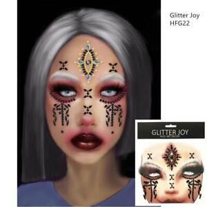 "GLITTER JOY :  Face Gems Jewels."" GODDESS HECATE"""