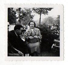 PHOTO Photographe photographié Caméraman Autoportrait Caméra Appareil Vers 1950