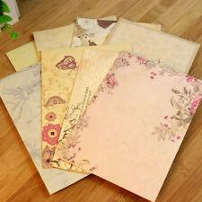10pcs Nette Landhausstil Umschlag Briefpapier Büro Nachricht Briefpapier Brief